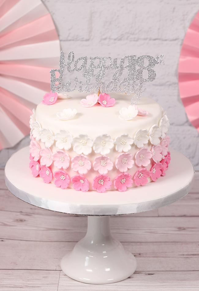 Pink-Ombre-Flower-Cake-1