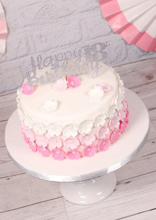 Pink-Ombre-Flower-Cake-5