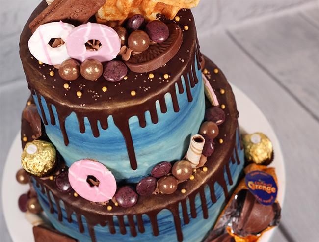 Chocolate Amp Biscuit Overload Chocolate Drip Cake Cakey