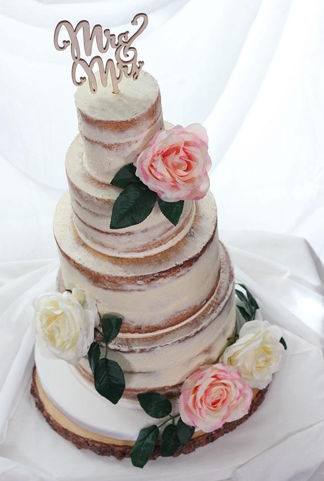 Pretty Vintage Wedding Cake Cakey Goodness