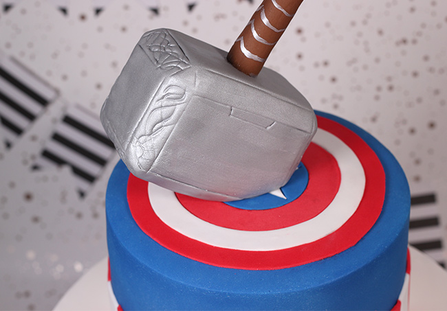 Captain America Thor Cake Cakey Goodness